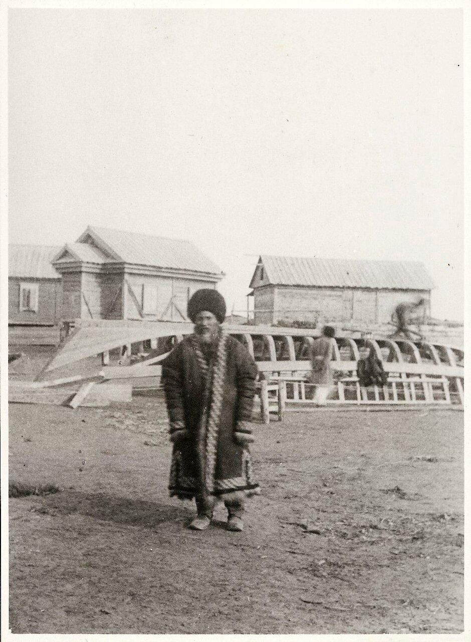 Туркмен с полуострова Челекен