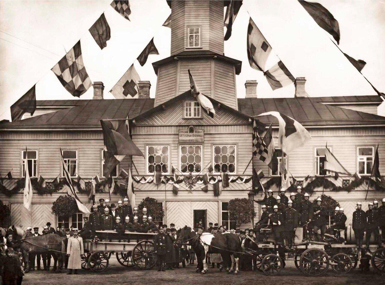 1902. Малоохтенский отдел Санкт-Петербургского Пригородного Пожарного Общества.