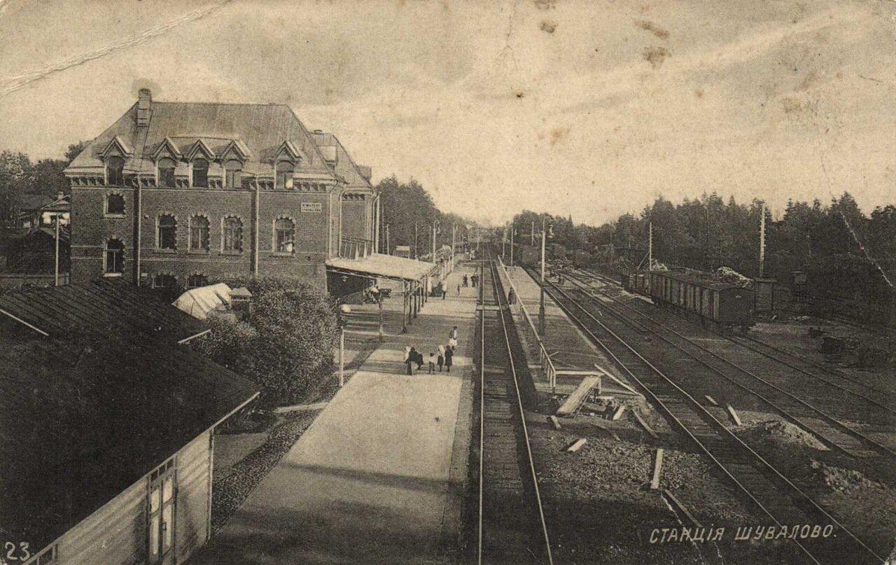 Шувалово. Станция