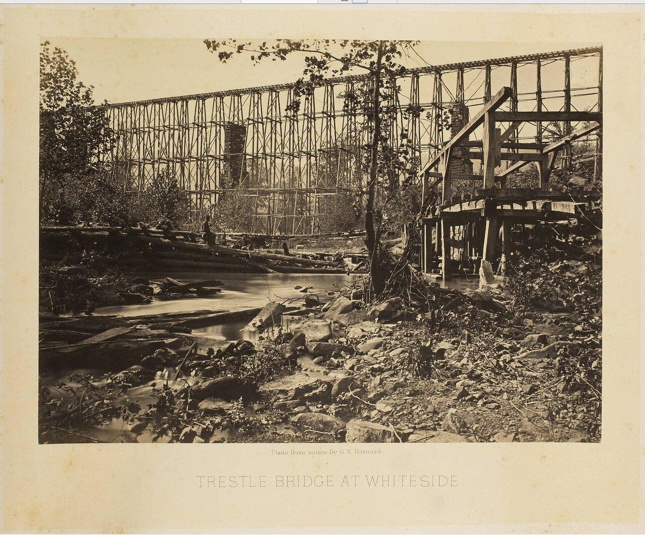 Эстакада моста на Уайтсайд
