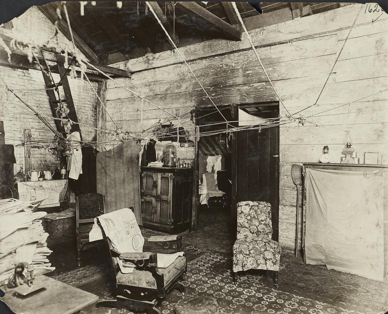 Квартира в доходном доме. 1916