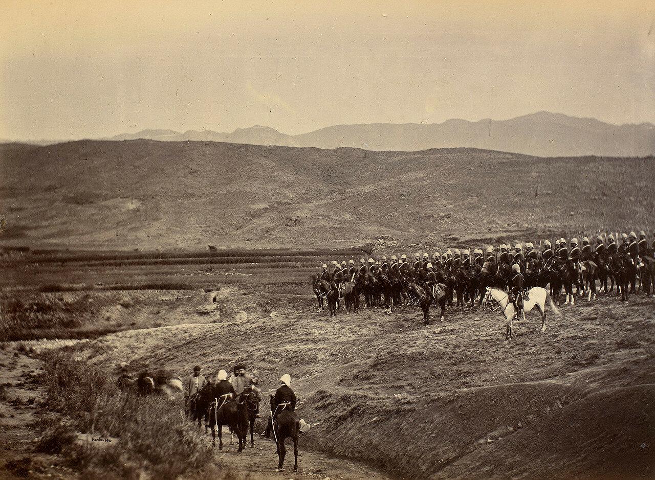 Встреча Эмира Мохаммада Якуб-хана и сэр Пьера Луи Наполеона Каваньяри перед заключением гандамакского мирного договора. Май 1879.