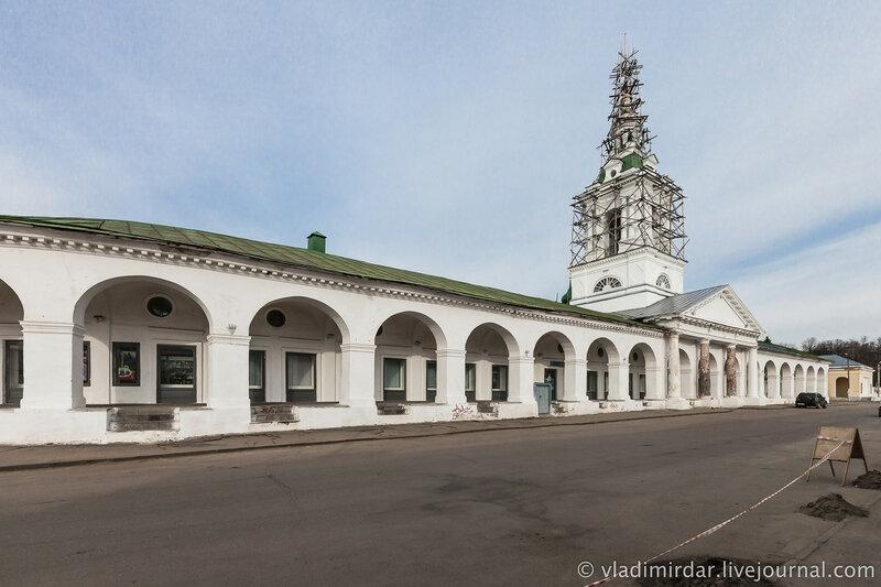 Церковь Спаса в Рядах. Красные Ряды. Кострома.