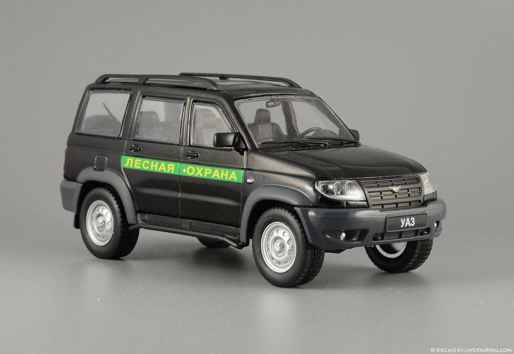 Автомобиль на службе: выпуск номер 60 - УАЗ-3163 Patriot