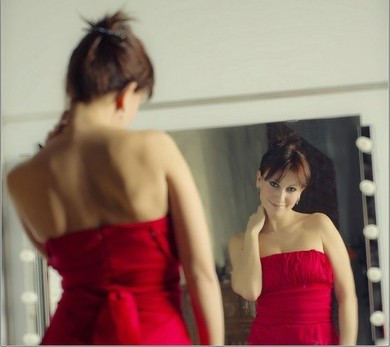 Почешись в зеркале