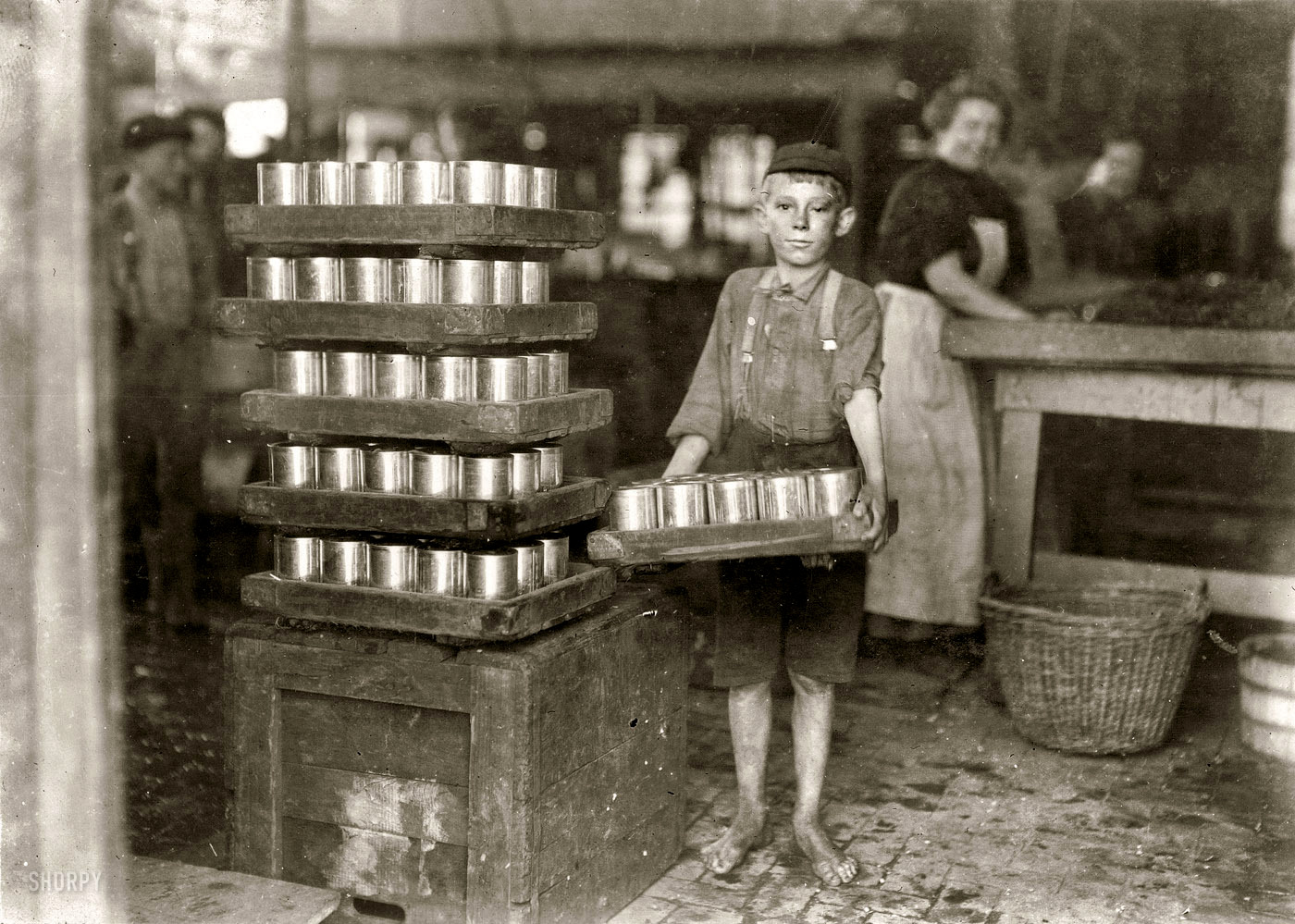 industrial revolution child labor thesis