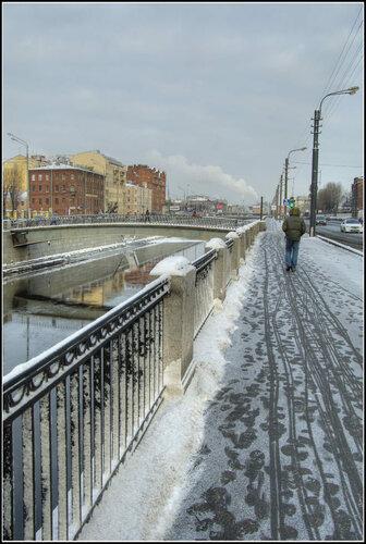 Санкт-Петербург. Обводный канал. Январь 2014.