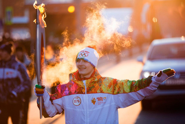 Факел олимпийских игр картинки
