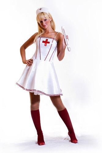 Женский карнавальный костюм Медсестра