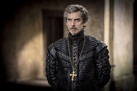 Programme Name: The Musketeers - TX: n/a - Episode: n/a (No. n/a) - Embargoed for publication until: n/a - Picture Shows:  Cardinal Richelieu (PETER CAPALDI) - (C) BBC - Photographer: Robert Viglasky