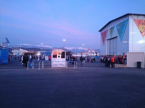 Олимпийский парк и Фишт