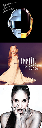 Рецензии на альбомы Daft Punk / Emmelie de Forest / Demi Lovato