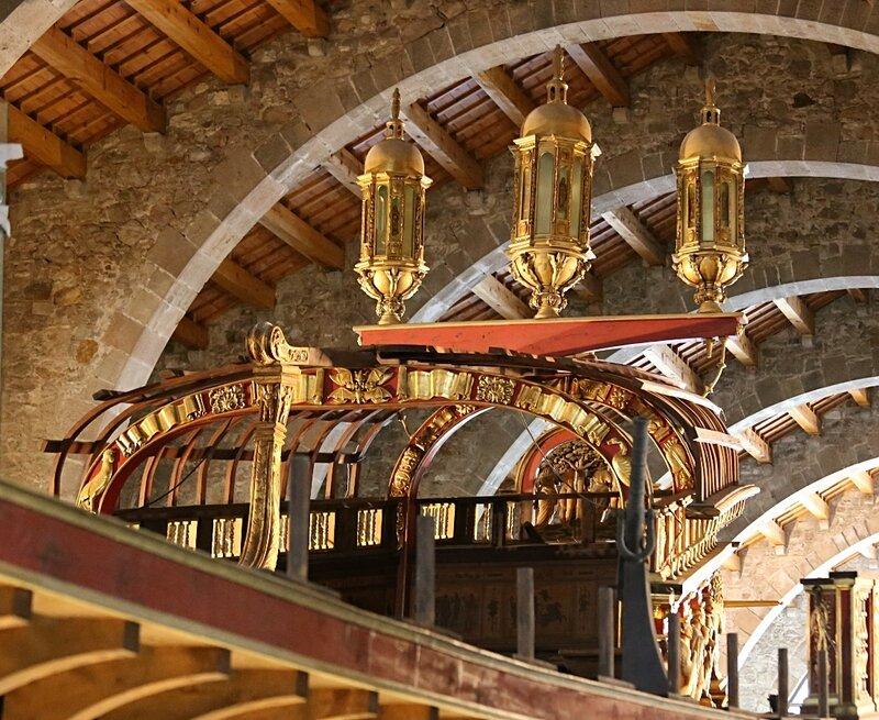 Maritime Museum of Barcelona. Galera Real