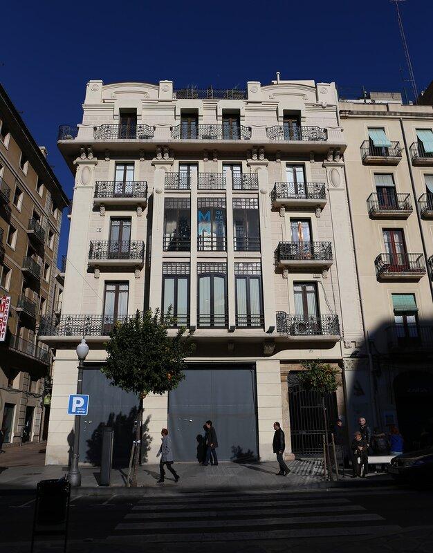 Tarragona. The Rambla Nova.