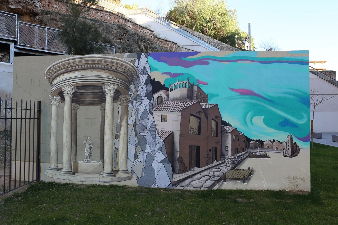Таррагона. Римский театр. Teatre Romà
