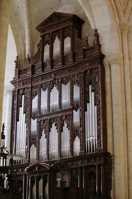 Таррагона Кафедральный собор. Орган.  Organ.