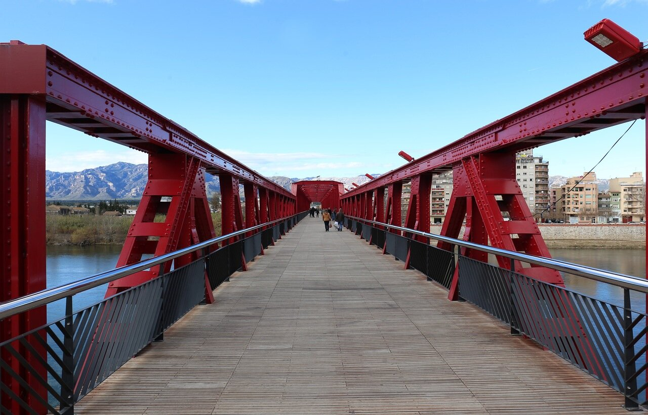 Тортоса, Tortosa, Pont del Ferrocarril -Железнодорожный мост