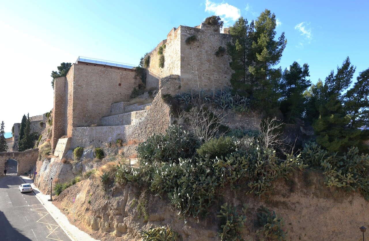 Тортоса. Замок Де ла Суда. Castell de la Suda