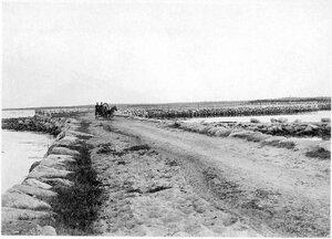 Соловетский монастырь. Каменная дамба на Муксалму. 19081910 г.