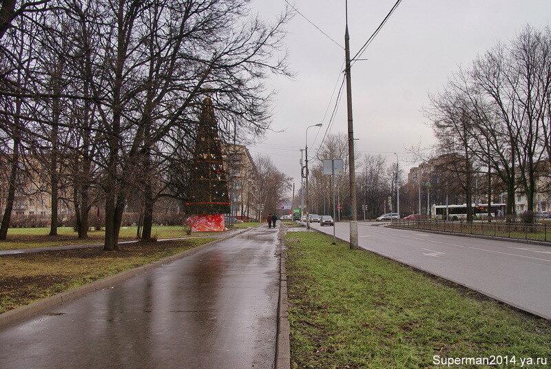 Бесснежный январь 2014