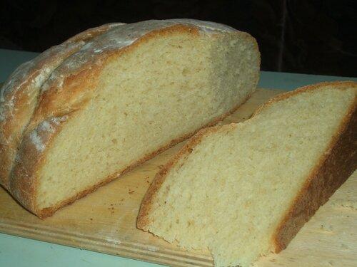 Хлеб с кукурузной мукой и овсянкой