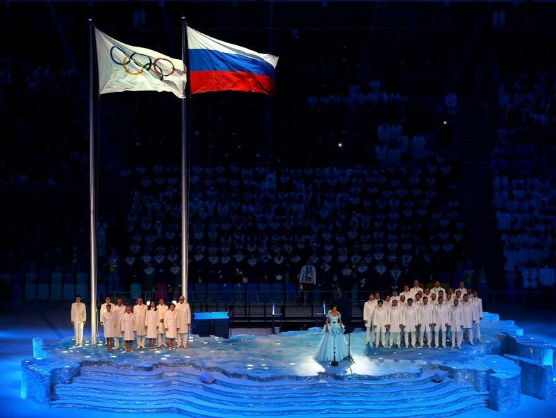 Церемония открытия Олимпийских игр в Сочи