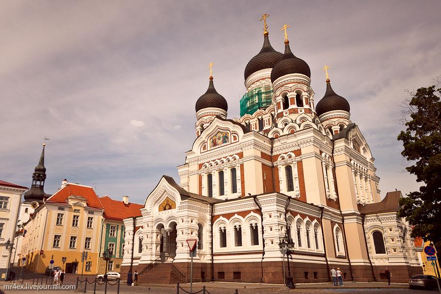 Таллин, Эстония, Старый город, Собор Александра Невского