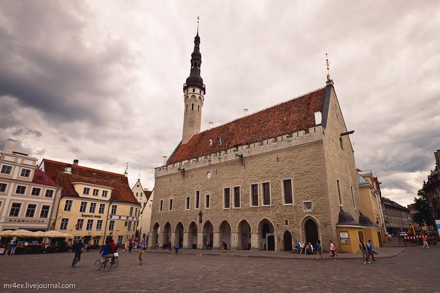 Эстония, Таллин, Ратушная площадь, Ратуша в Таллине, Raekoja
