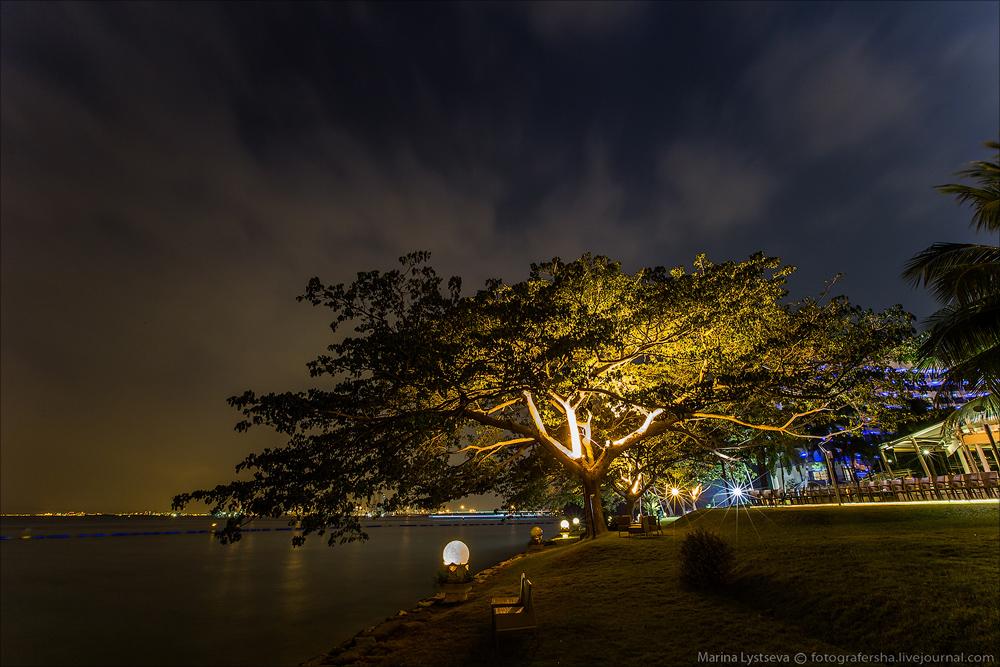 Сингапур, Силосо пляж
