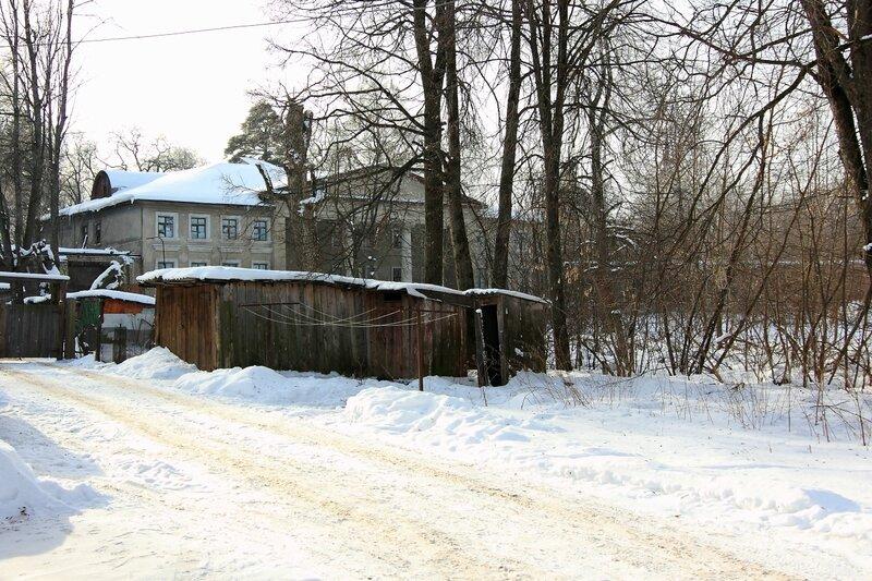 Главный усадебный дом в Никольском-Обольянинове