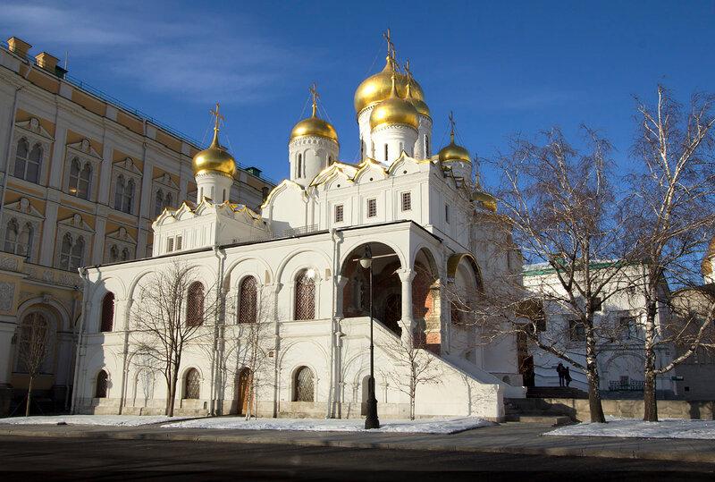 Москва. Благовещенский собор в Кремле.