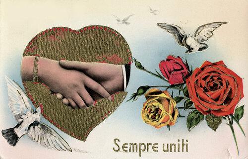 Italian Valentine'S Day Card