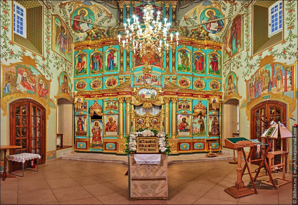 Храм во имя преподобного Алексия, человека Божия в Репном