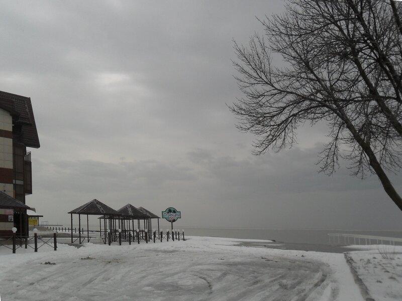 Снег, мороз, пасмурно...