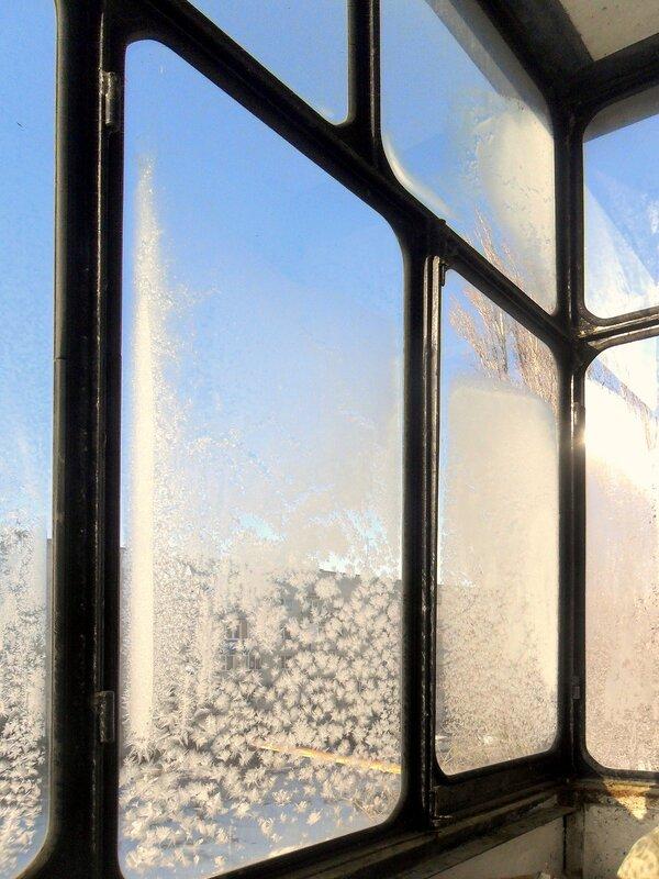 Узоры, мороз, стекло...