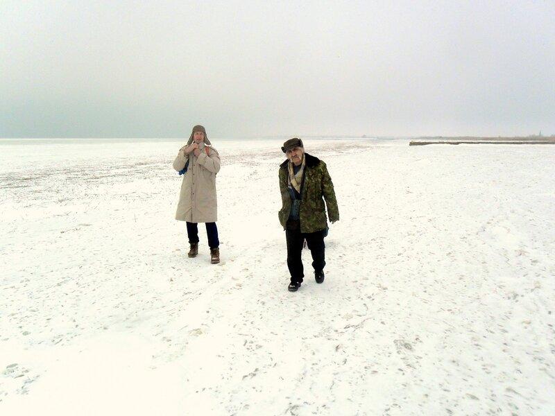 В походе, по февральскому морозцу