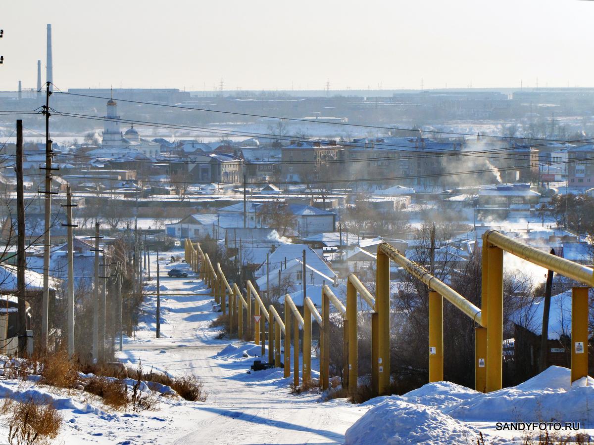 Троицкий газопровод по улице Халтурина