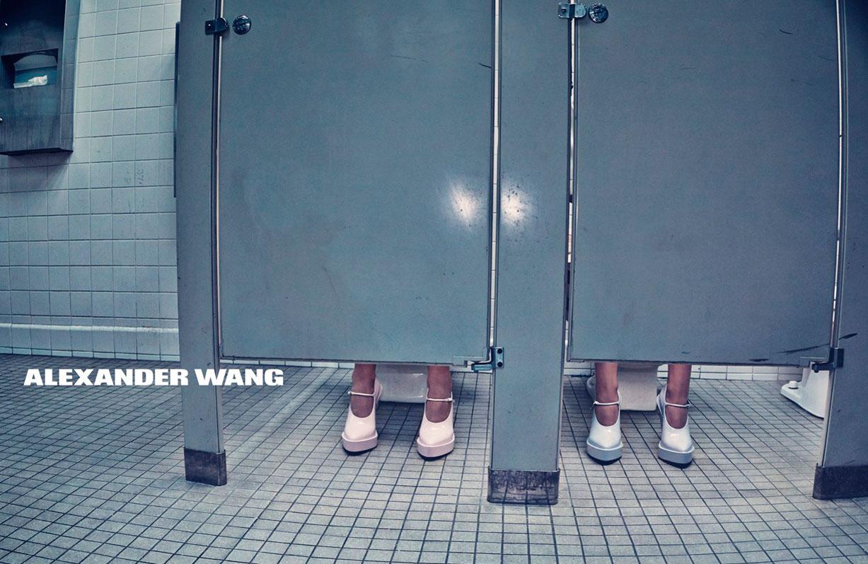 Анна Эверс и Жужу Тадеущук / Anna Ewers & Zuzu Tadeushuk by Steven Klein for Alexander Wang SS 2014 campaign