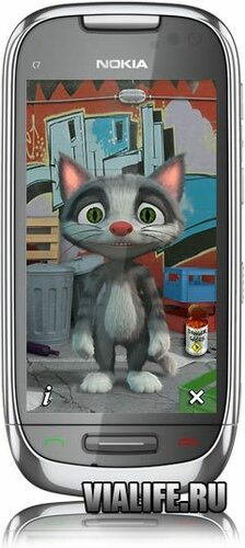Игра Talking Cat для Nokia Symbian^1, Symbian^3, Anna, Belle