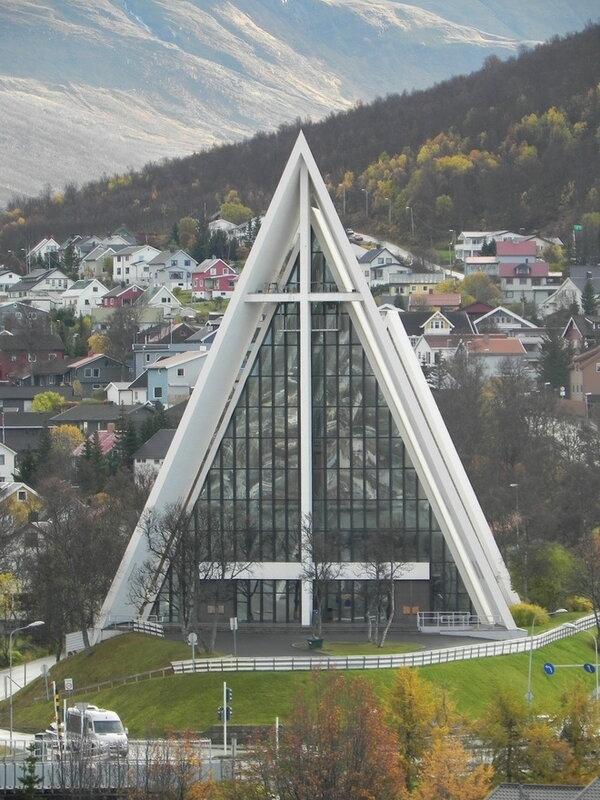 Арктический собор (Arctic Cathedral) в Норвегии