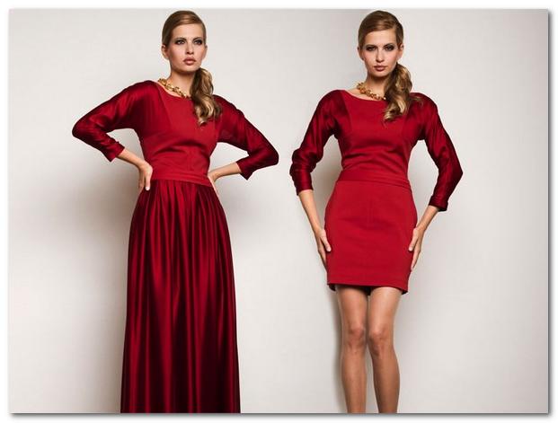 Как сделать праздничным обычное платье