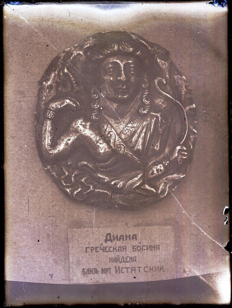 Диана, греческая богиня, найденная близ юрт Истятских