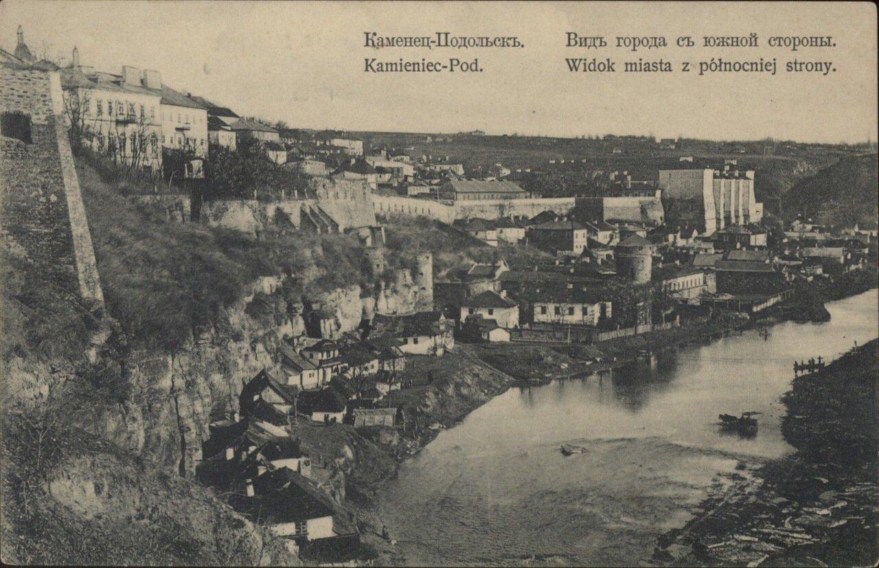 Вид города с южной стороны