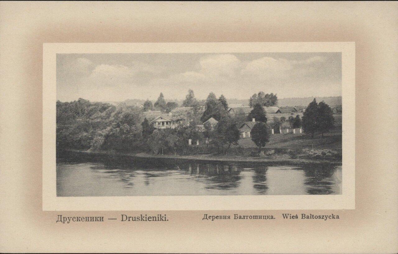 Деревня Балтошицка. 1910