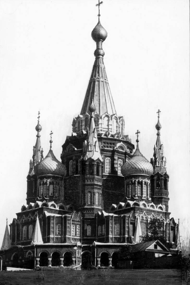 Храм святого Михаила Архангела. 1910