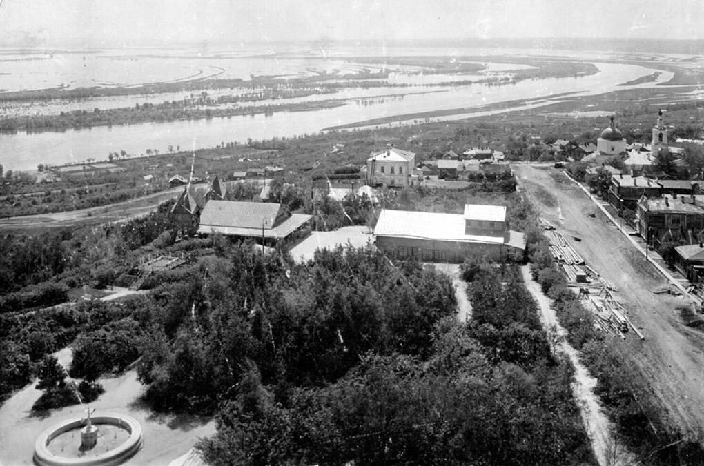 Владимирский общественный сад. 1907