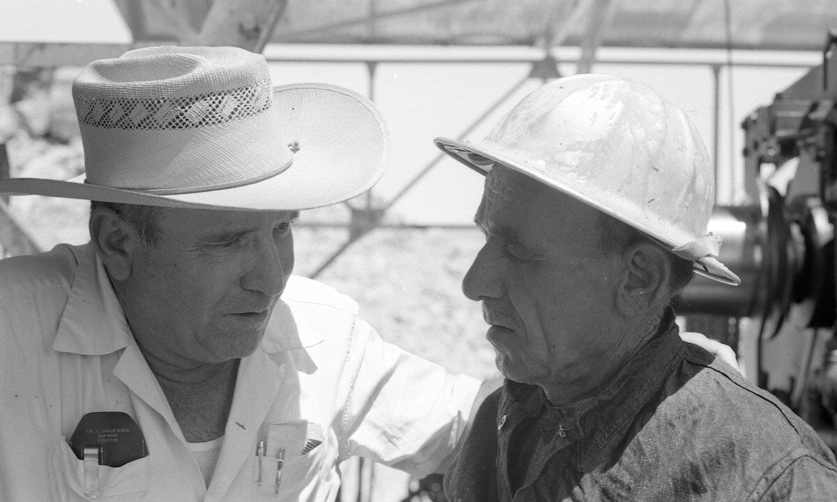 52. Работники нефтяной промышленности, Иран, 1958