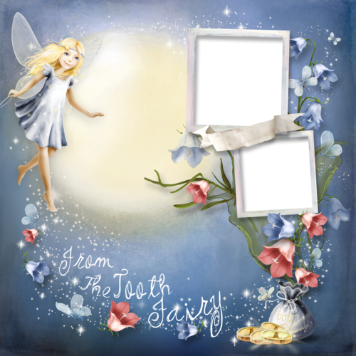 Scrap set Dear Tooth Fairy
