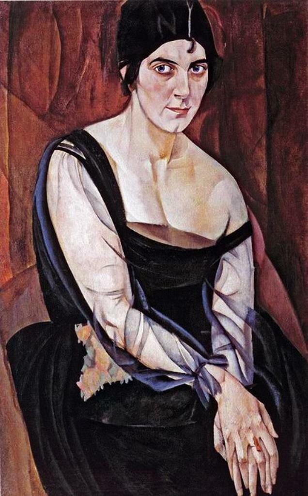 Портрет М.Я. Ясной, Григорьев Борис Дмитриевич (1886-1939)