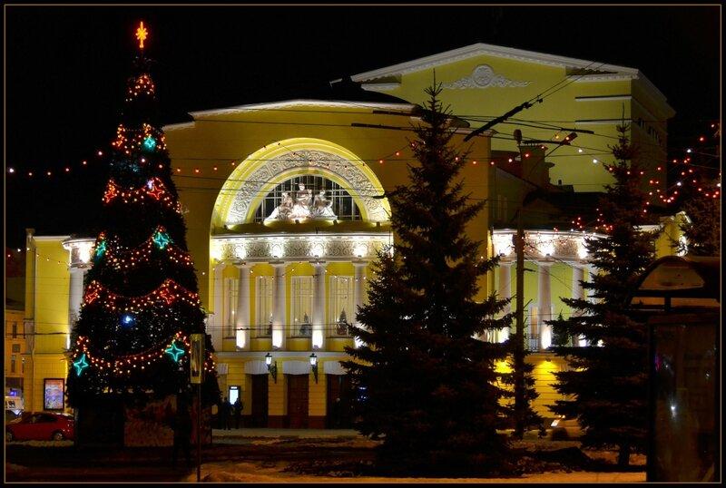 Новогодний Ярославль...